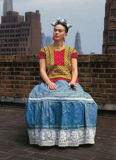 ♥ Chiquita Bacana Atelier!: Frida Kahlo in New York, 1946