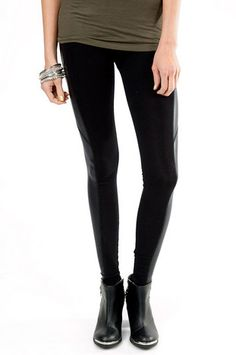 Need to find these in france Harley Panel Leggings $30 at www.tobi.com