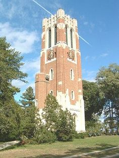 Beaumont Tower on the beautiful Campus of Michigan State University
