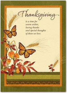 Happy Thanksgiving Greeting Cards from Treat.com