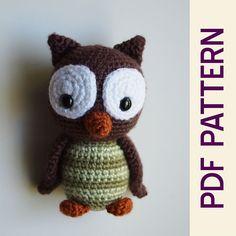 Ravelry: Hootie the Owl Forest Buddy doll pattern by Heather Jarmusz
