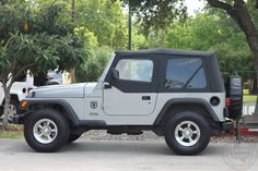 2002 Jeep Wrangler SE - 132k Miles, Soft Top with Half Doors, 5-Speed Manual, BFGoodrich All-Terrains! For Price----> http://www.selectjeeps.com/inventory/view/6889535/2002-Jeep-Wrangler-2dr-SE-League-City-TX