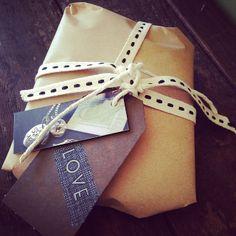 The wonderful Appleye (http://instagram.com/appleyehandmade) using our East of India #paper #tape in their packaging.
