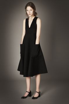 dress // LOOK | 2015 PRE-FALL COLLECTION | ROCHAS | COLLECTION | WWD JAPAN.COM
