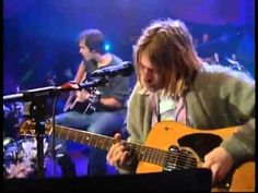 Another Seattle musician that helped define the 90's music scene. Nirvana 'Come As You Are' (unplugged)
