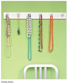 coat rack for necklaces