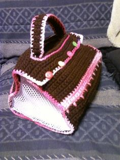 Daily Diy Pet Pattern Crochet Pattern For A Doggie Tote