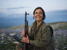 These Portraits Of Kurdistans Guerrilla Fighters Show The Faces Of The Brutal Conflict