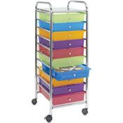 10 Drawer Rolling Organizer - Michael's has these on sale for $44 this week!