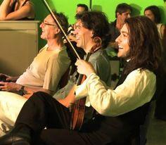David as Paganini.