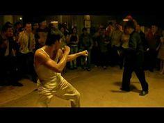 Tony Jaa in Ong Bak, Fight Club fight scene