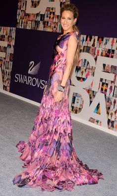 We Love Sarah Jessica Parker's Flowing Gown At The CFDA Awards, June 2010