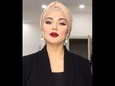 Makeup by Saparova @ how to tie a turban - YouTube