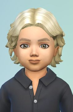 Birksches sims blog: Curly Spreads hair for toddlers  - Sims 4 Hairs - http://sims4hairs.com/birksches-sims-blog-curly-spreads-hair-for-toddlers/