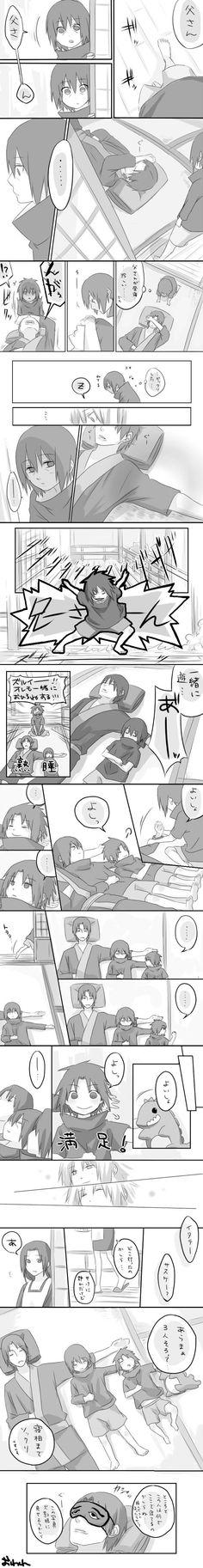 #Itachi #Sasuke #Mikoto #Fugaku .. Uchiha Family <3