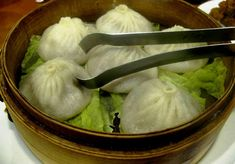 Watch as cooks hand-make pork, crab and vegetable dumplings served piping hot from the frypan or inside a steaming basket. More daring dim sum options include c