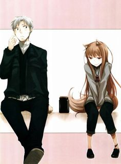 Spice and Wolf | Holo's mischievous face XD