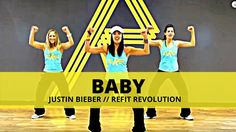 """Baby"" || Justin Bieber || Dance Fitness & Toning || REFIT® Revolution"