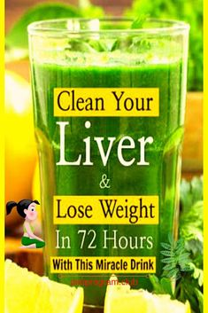 How to make detox smoothies. Do detox smoothies help lose weight? Learn which ingredients help you detox and lose weight without starving yourself. Clean Your Liver, Detox Your Liver, Liver Detox Cleanse, Detox Diet Plan, Body Detox, Juice Cleanse, Health Cleanse, Stomach Cleanse, Body Cleanse