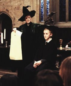 I'm not sure what to think of this. I believe that the sorting hat should have at least pretended to consider draco's house placement. But maybe I'm just thinking to hard.