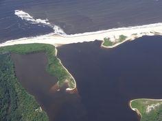 Survol de la côte gabonaise, Gabon