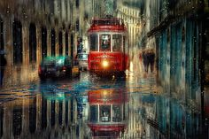 İstanbul / A rainy day Urban Photography, Street Photography, Cozy Rainy Day, Rainy Mood, Rainy Weather, Foto Gif, Rain Days, Rainy Season, Urban Landscape