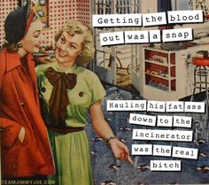 Life As a Housewife - Sarcastic Words to Live By Housewife Meme, 1950s Housewife, Vintage Housewife, Funny Cute, The Funny, Hilarious, Vintage Meme, Vintage Comics, Vintage Stuff