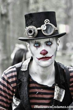steampunk clown