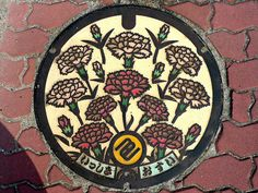 Decorative Manhole Covers From Japan