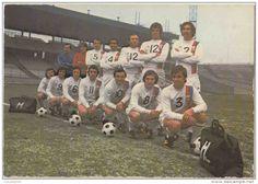 Fottball. Equipe Olympique Lyonnais , 1971, 1975. Mihajlovic, Domenech, Di Nallo... Pub Hunga. 2 scans