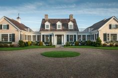 The designers were very careful to pay close attention to Cape Cod style and details when choosing every aspect of HGTV Dream Home 2015's front yard. Rather than a paved driveway, a traditional pea-gravel drive adds to the home's New England style.