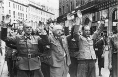 Henri Cartier-Bresson   German Soldiers Surrender Upon the Liberation of Paris, 1944