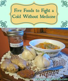 Five foods to fight a cold naturally