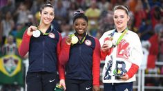 Congrats to Simone, Aly and Team GB's Amy Tinkler!