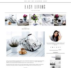Need a new Blogger design?  This is a pretty Blogger template with an auto top gallery layout.  It's a clean, responsive blogger template for Blogspot blogs.  Pretty, professional, easy blogging for a new design for your blog.  Click for more info http://www.boutique-website-design.com/store/c9/Blogger_Templates.html#.VbK1YqRViko