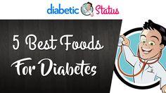 5 Best Foods for Diabetes and Blood Sugar | Diabetic Status https://youtube.com/watch?v=UkRjwKd_aFg