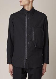 Y-3 3-D Pocket Shirt (Black)