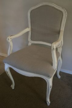 How to Upholster a Caned Back Chair: Tutorial !!!!!!new project here I come!!!!!:D
