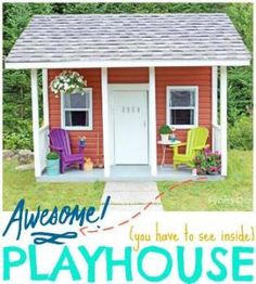 How To Build a Kid-Friendly Outdoor Hideaway/ Reading Nook | Our ...