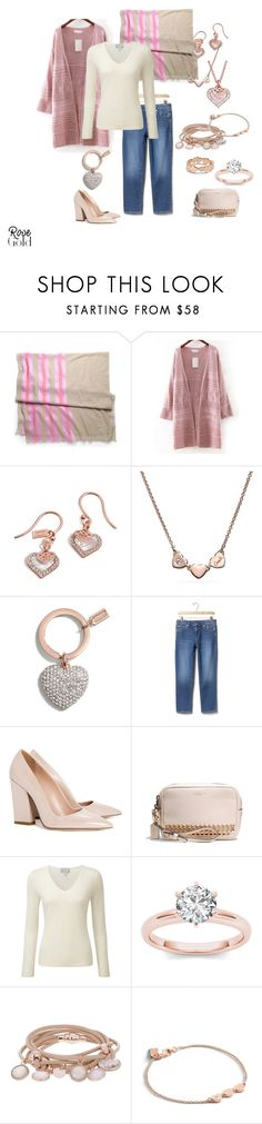 """Untitled #246"" by aimemcc13 ❤ liked on Polyvore featuring Coach, Gap, Dee Keller, Pure Collection and Marjana von Berlepsch"