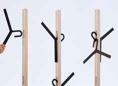 Cool Hangers designer coat hangers from smool | design | pinterest | designer
