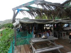 St. Kitts Shipwreck Beach Bar, Go If You Don't Want To Be Found