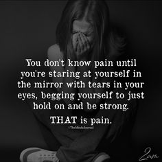 You Don't Know Pain Until You're Staring At Yourself In Mirror - https://themindsjournal.com/you-dont-know-pain-until-youre-staring-at-yourself-in-mirror/