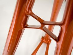 Chris's Orange Track Frame by bishopbikes, via Flickr