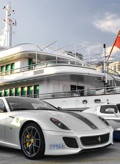 ★ Visit ~ MACHINE Shop Café...★ $ Ferrari Supercar & Superyacht $