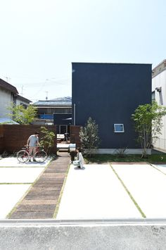 Japanese Home Design, Japanese House, House Front, My House, Casa Patio, Minimal Home, Random House, Architecture Plan, Detached House