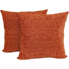 Add a pop of color to your bedding or sofa with the Chenille x in. Decorative Pillow - Set of 2 by Mainstays . This set includes two textured. Orange Throw Pillows, Boho Throw Pillows, Day Bed Decor, Room Decor, Burnt Orange Decor, Beige Couch, Cute Bedroom Ideas, Bedroom Inspo, Living Room Colors
