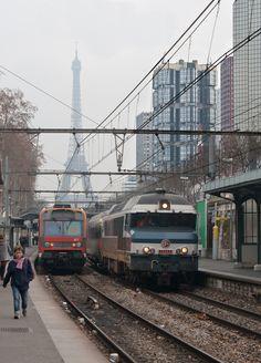 train & tower