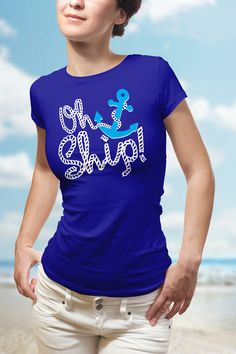 OH SHIP!, Ship Faced, Nautical, Anchor, jokes, funny, Ship, tanks, oh shit, sailor, cruise, boat, tshirt, cruise clothes, oh ship, bachelorette, cruise group, cruise tank, cruise tshirt, cruise t-shirt, cruise countdown, cruise outfit, party