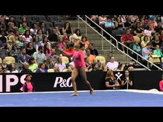 Margzetta Frazier – Floor – 2014 P&G Championships – Jr. Women Day 2 - YouTube